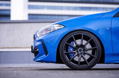 BMW 1 Series Concaver CVR4 Double Tinted Black