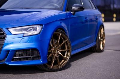 Audi A3 / S3 / RS3 Concaver CVR4 Brushed Bronze