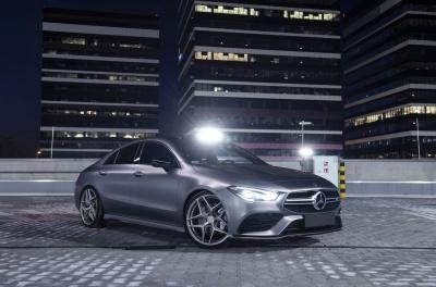 Mercedes-Benz CLA / CLA35 / CLA45 Concaver CVR2 Brushed Titanium