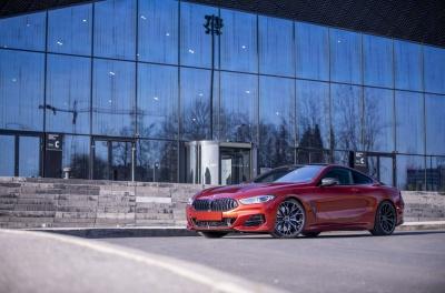 BMW 8 Series / M8 Concaver CVR1 Double Tinted Black