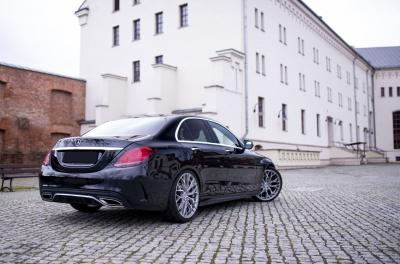 Mercedes-Benz C Class / C43 / C63 Concaver CVR1 Brushed Titanium
