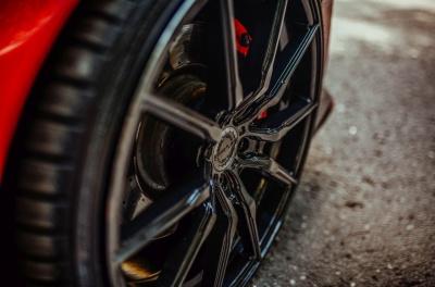 Honda Civic Type R Concaver CVR4 Double Tinted Black
