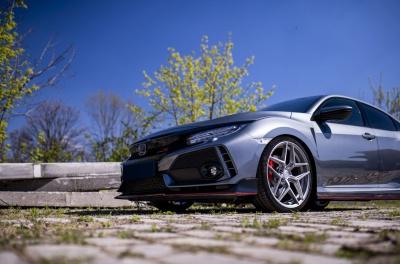 Honda Civic Type R Concaver CVR2 Brushed Titanium