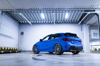 BMW 1 Series Concaver CVR1 Brushed Titanium