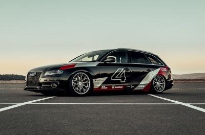 Audi A4 / S4 / RS4 Concaver CVR1 Brushed Titanium