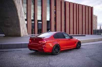 BMW 3 Series / M3 Concaver CVR4 Double Tinted Black