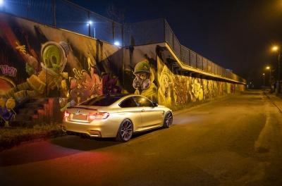 BMW 4 Series / M4 Concaver CVR4 Brushed Bronze