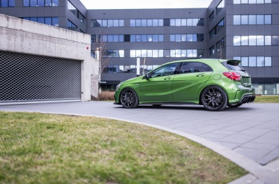 Mercedes-Benz A Class / A35 / A45 Concaver CVR1 Carbon Graphite