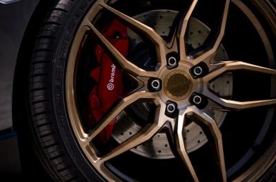 Honda Civic Type R Concaver CVR3 Brushed Bronze