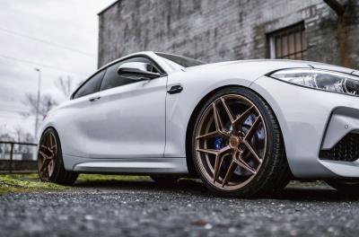 BMW 2 Series / M2 Concaver CVR2 Brushed Bronze