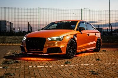 Audi A3 / S3 / RS3 Concaver CVR1 Double Tinted Black