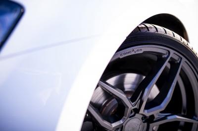 Volkswagen Golf / R / GTI Concaver CVR3 Carbon Graphite