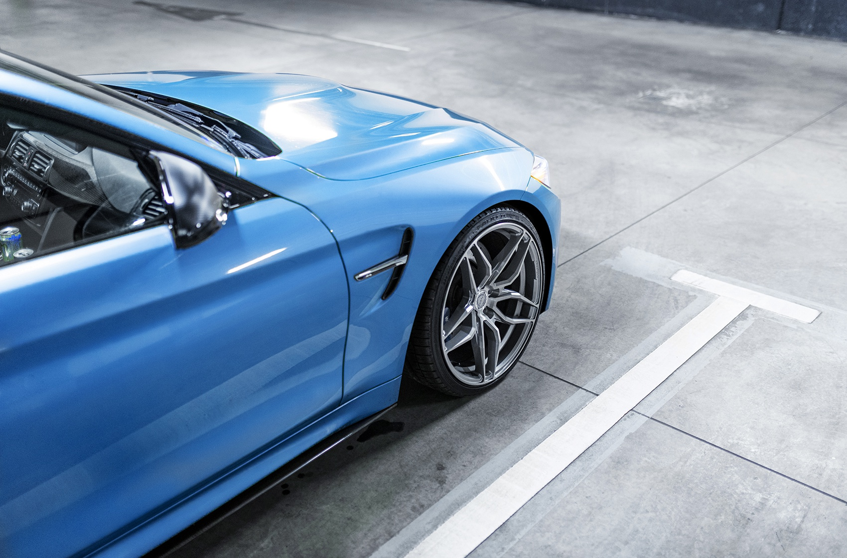 BMW 4 Series / M4 Concaver CVR3 Brushed Titanium