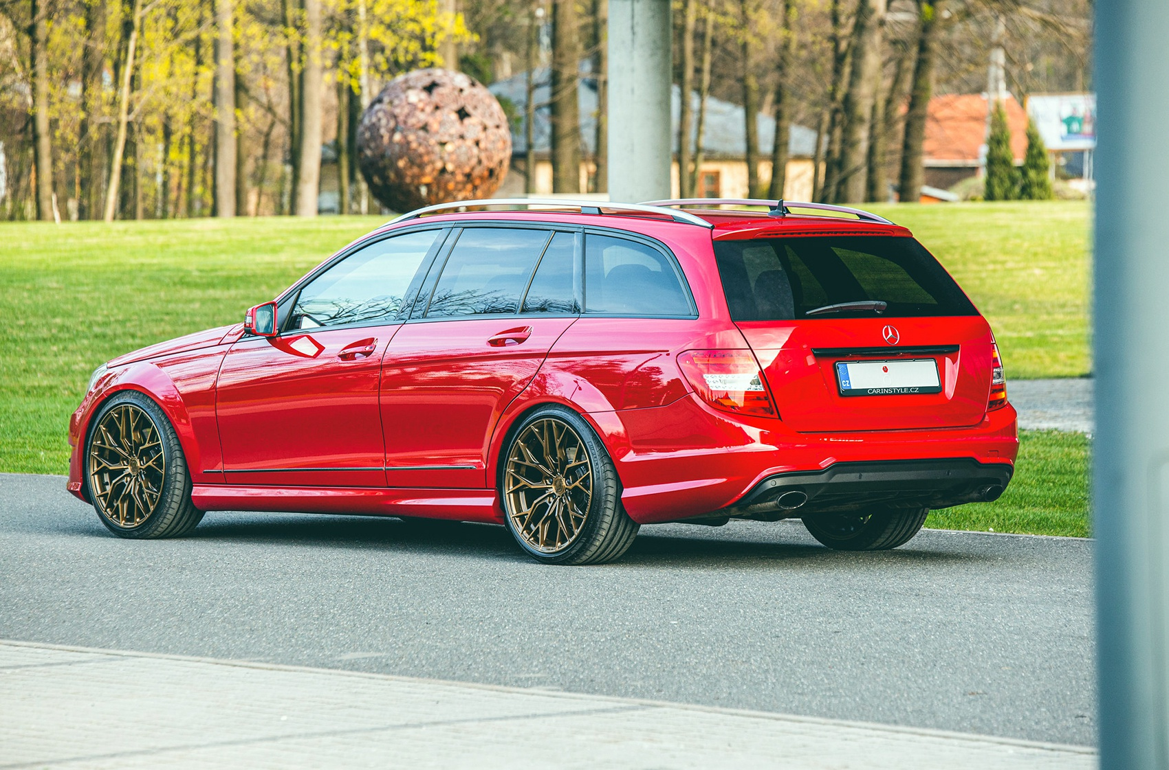 Mercedes-Benz C Class / C43 / C63 Concaver CVR1 Brushed Bronze