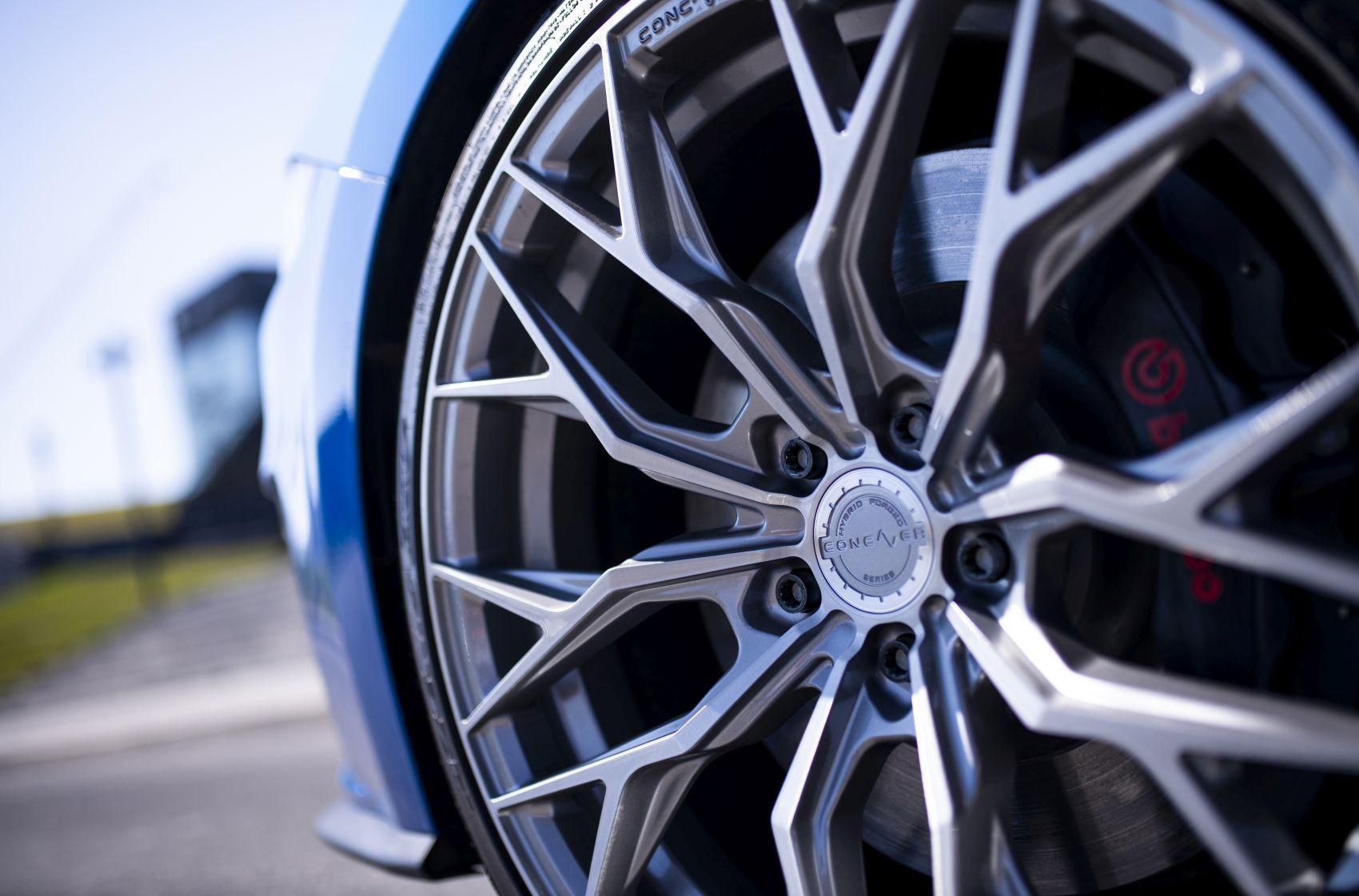 Ford Mustang Concaver CVR1 Brushed Titanium