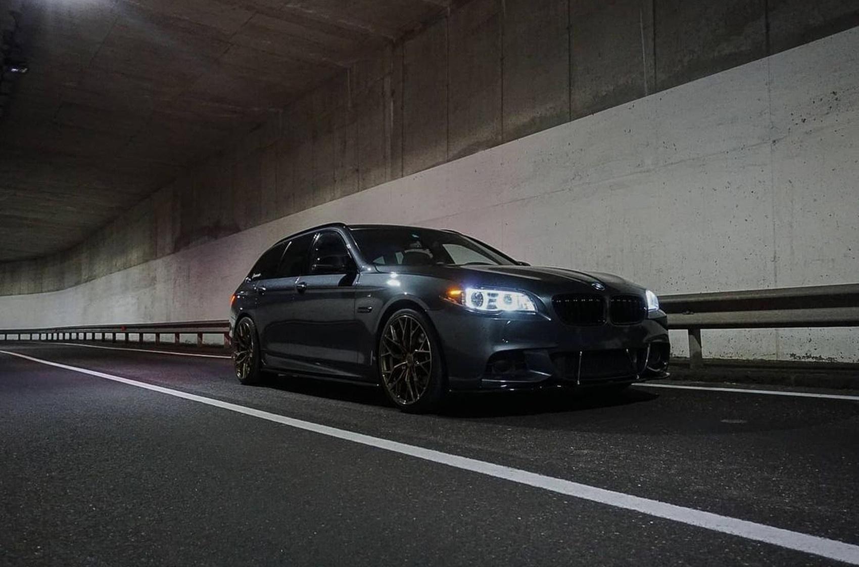 BMW 5 Series / M5 Concaver CVR1 Brushed Bronze