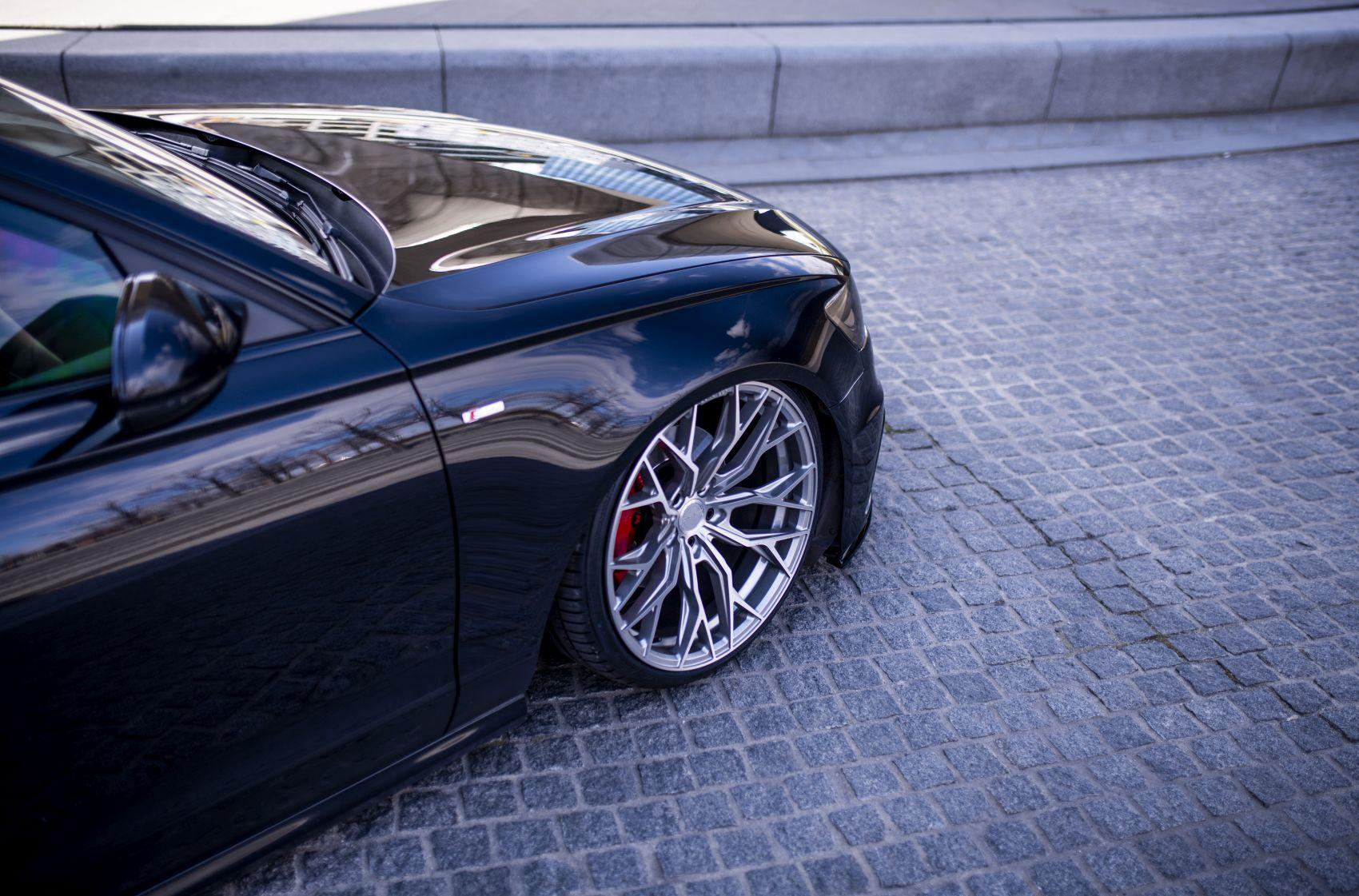 Audi A6 / S6 / RS6 Concaver CVR1 Brushed Titanium
