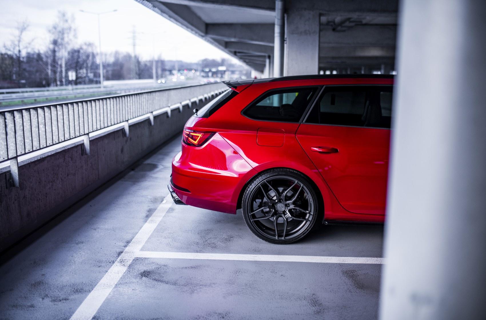 Seat Leon Cupra R Concaver CVR3 Carbon Graphite