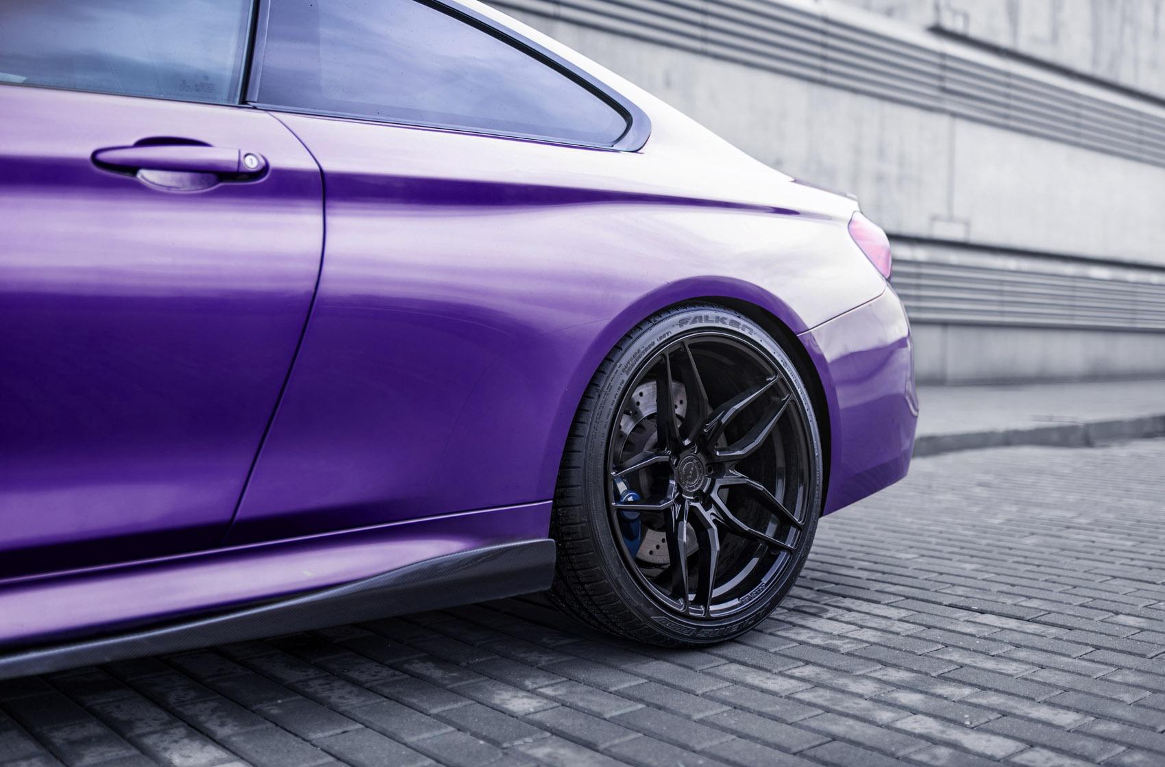 BMW 4 Series / M4 Concaver CVR3 Platinum Black