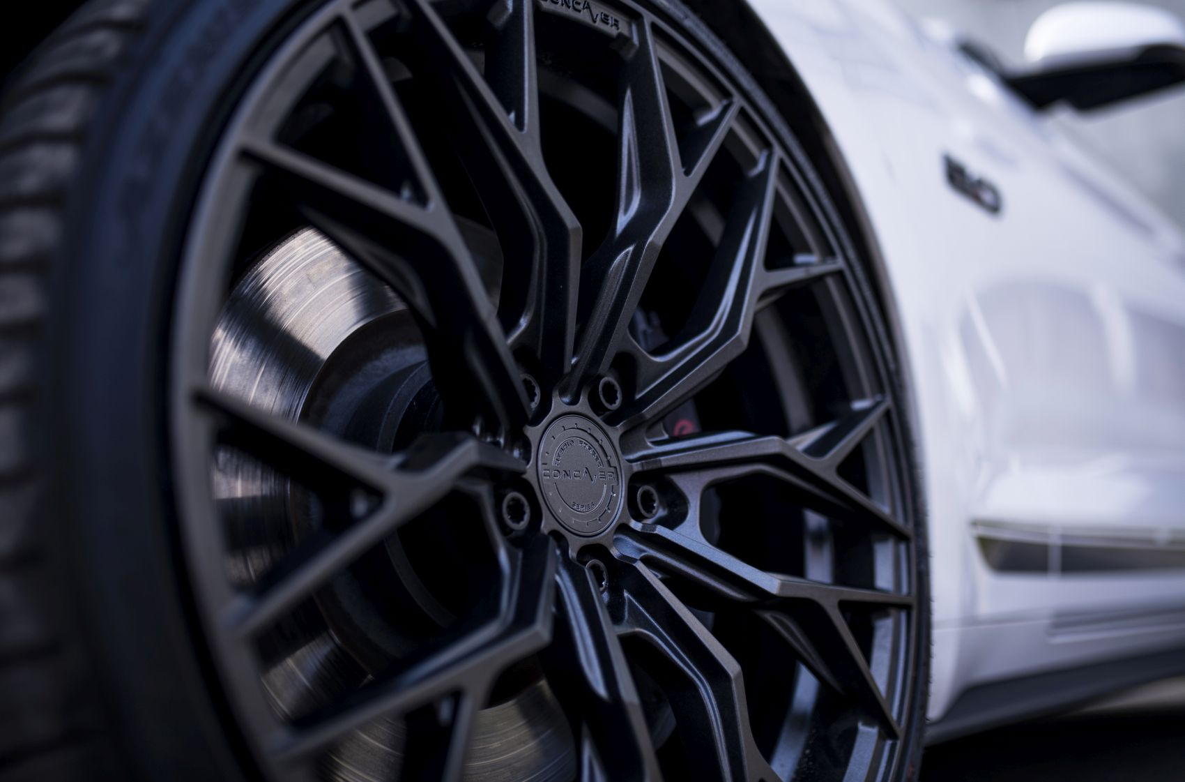 Ford Mustang Concaver CVR1 Carbon Graphite
