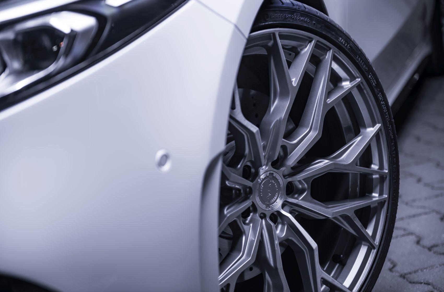 Mercedes-Benz A Class / A35 / A45 Concaver CVR1 Brushed Titanium