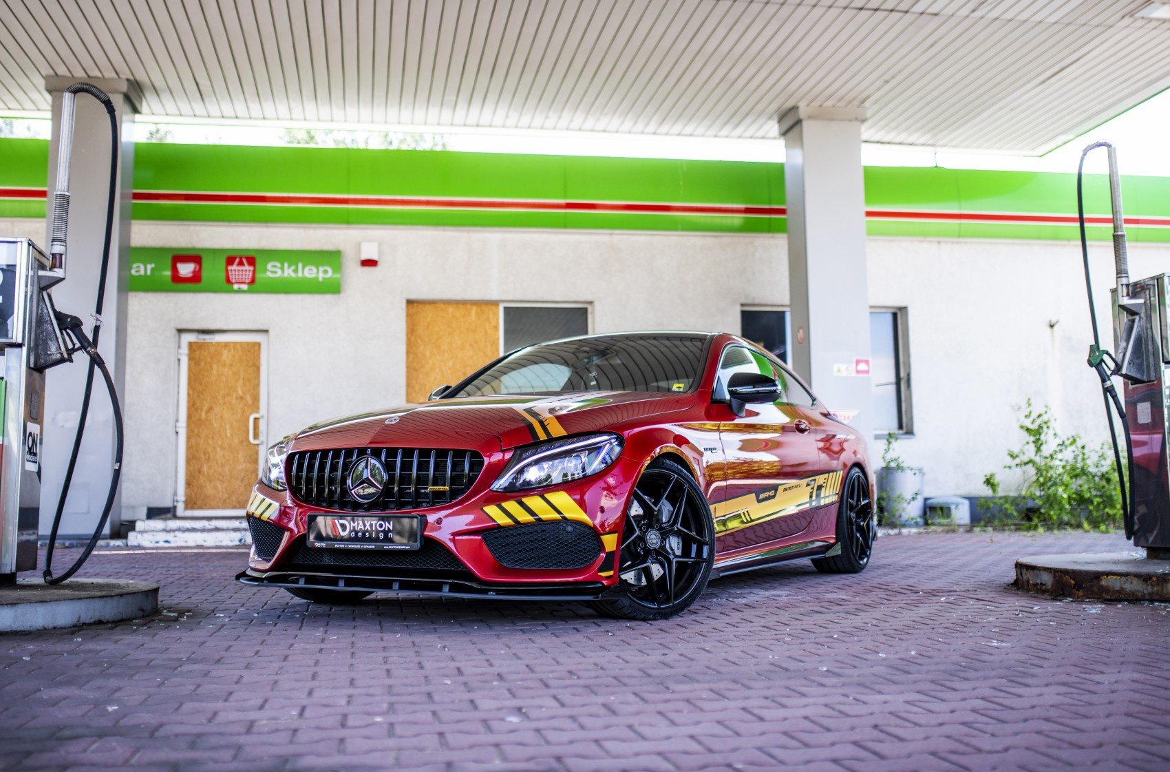 Mercedes-Benz C Class / C43 / C63 Concaver CVR2 Platinum Black