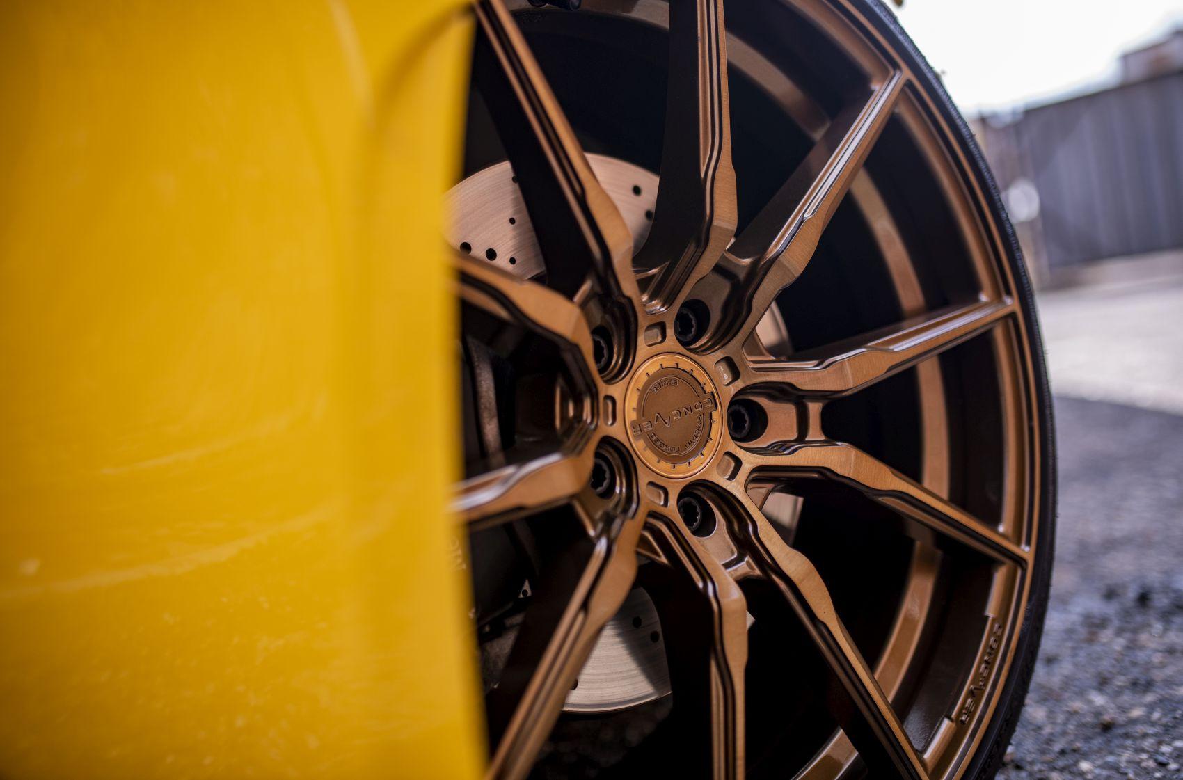 Mercedes-Benz CLA / CLA35 / CLA45 Concaver CVR4 Brushed Bronze