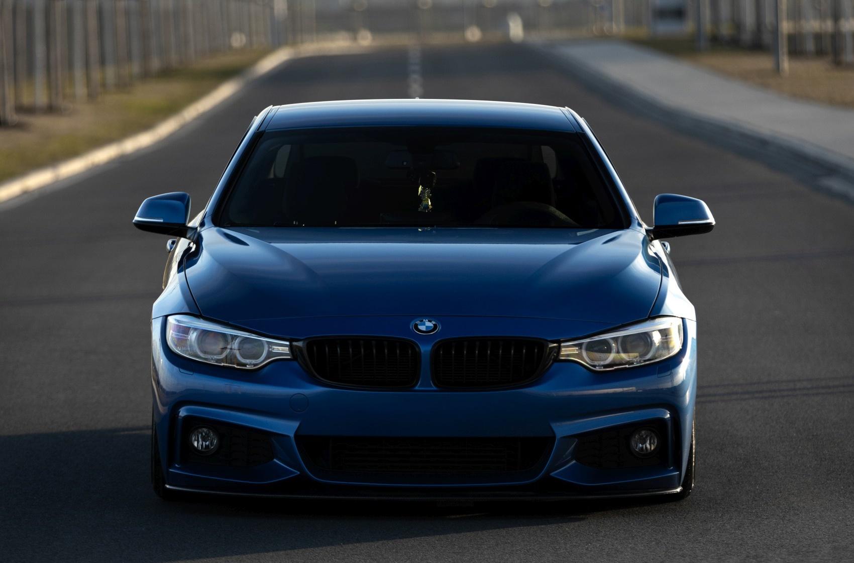 BMW 4 Series / M4 Concaver CVR4 Brushed Titanium