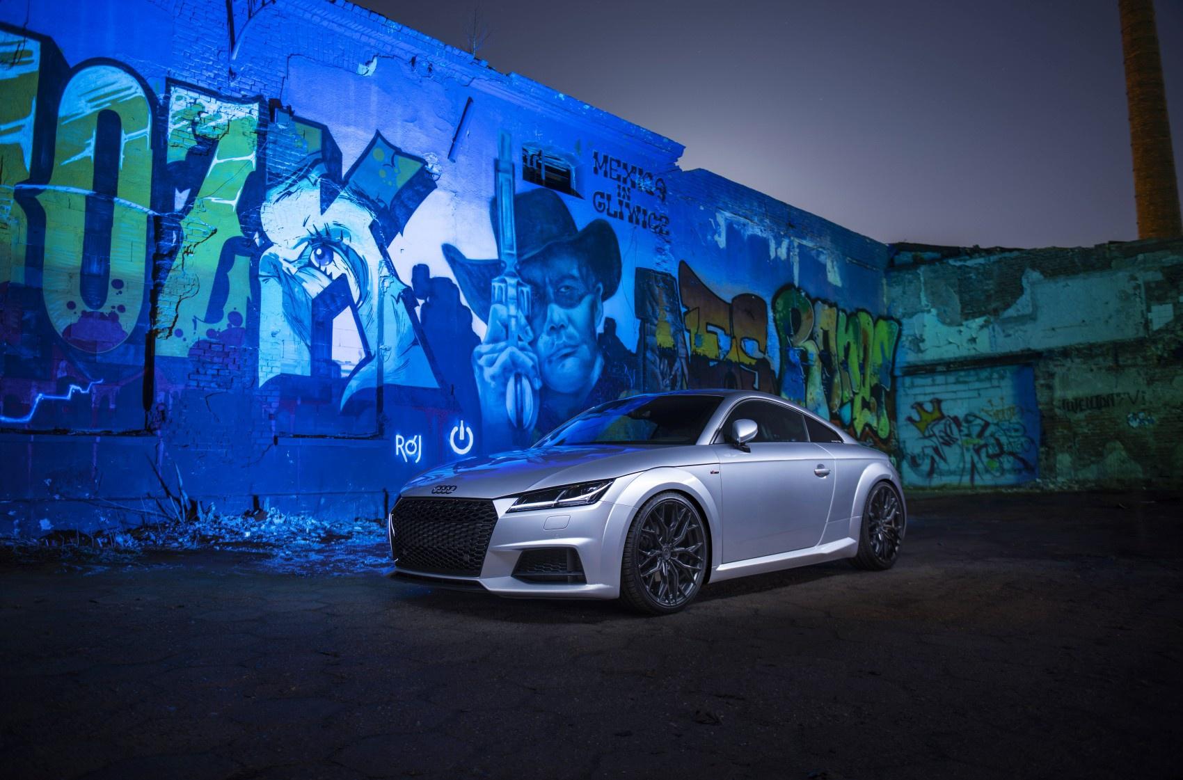 Audi TT Concaver CVR1 Carbon Graphite
