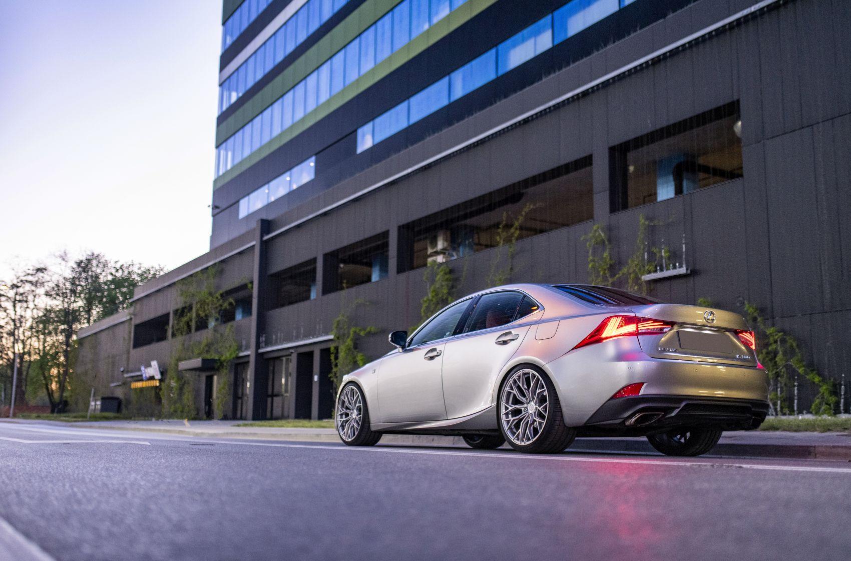 Lexus IS / ISF Concaver CVR1 Brushed Titanium