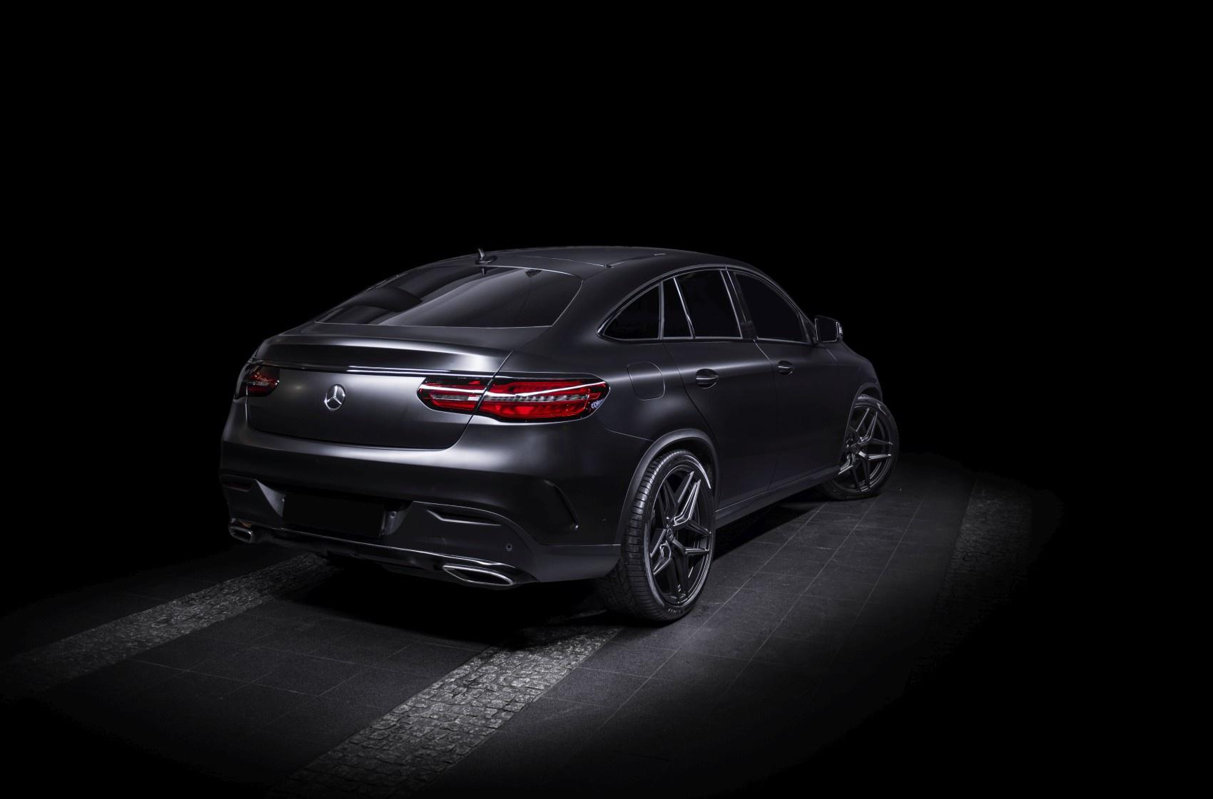 Mercedes-Benz GLE Concaver CVR2 Carbon Graphite