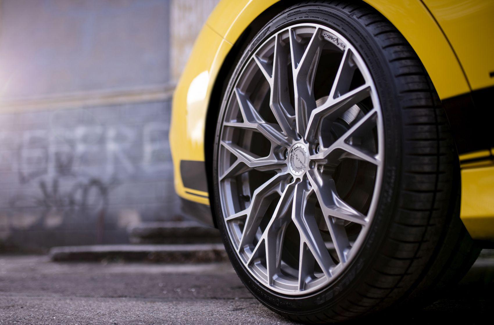 Mercedes-Benz CLA / CLA35 / CLA45 Concaver CVR1 Brushed Titanium