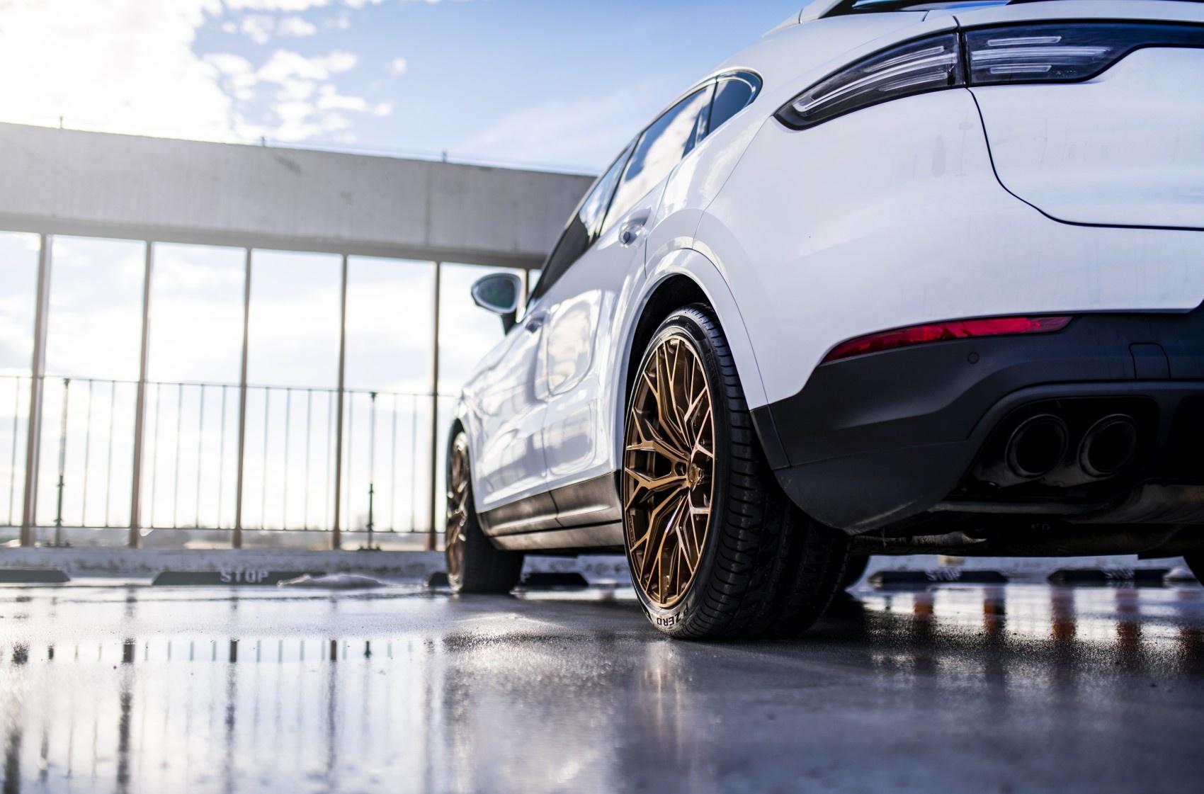 Porsche Cayenne Concaver CVR1 Brushed Bronze