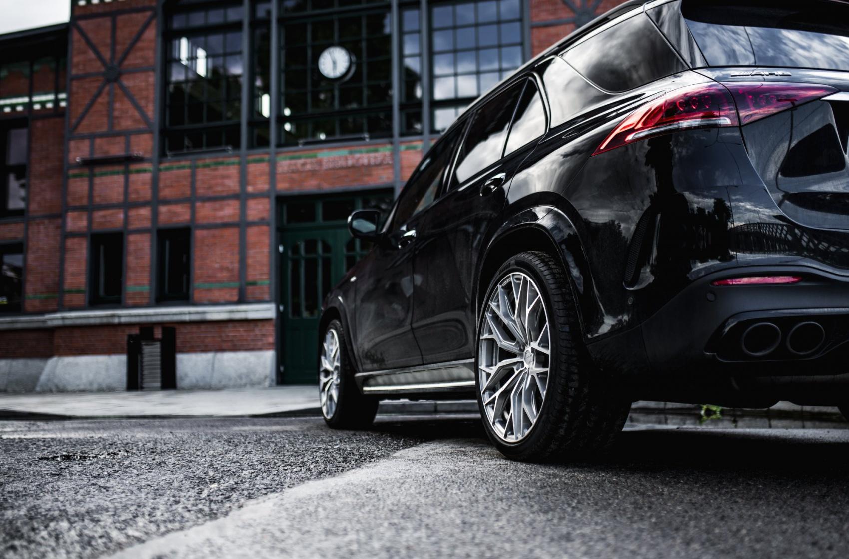 Mercedes-Benz GLE Concaver CVR1 Brushed Titanium