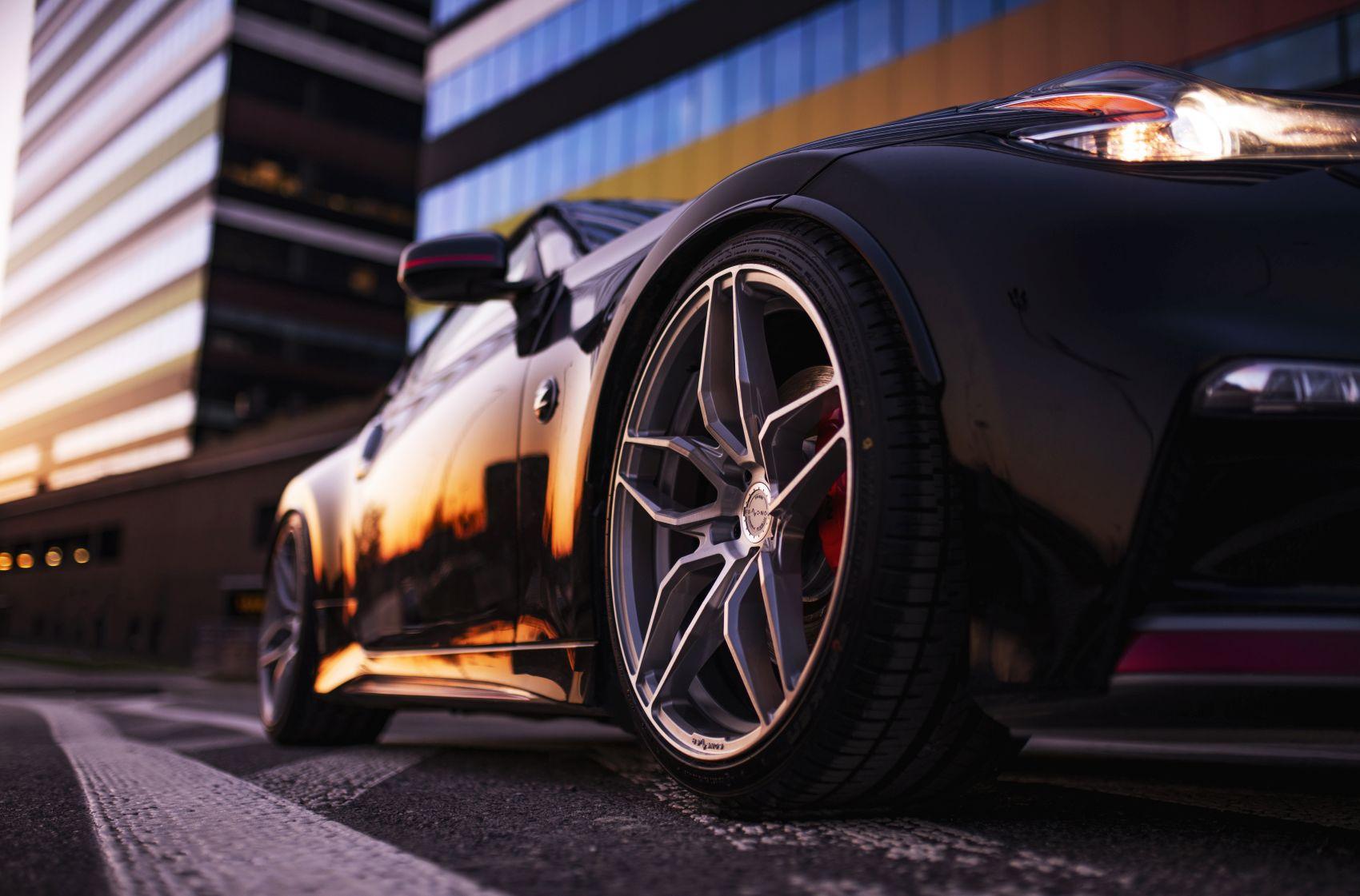 Nissan 370Z Concaver CVR3 Brushed Titanium