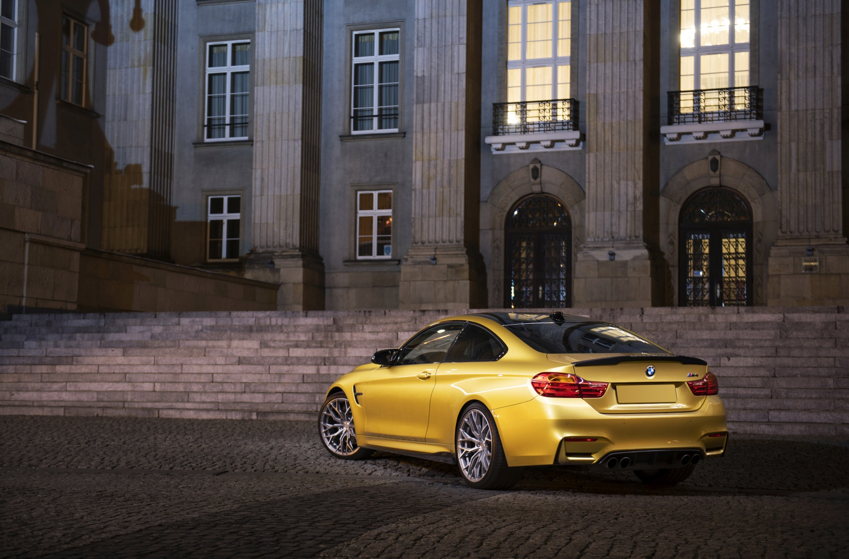 BMW 4 Series / M4 Concaver CVR1 Brushed Titanium