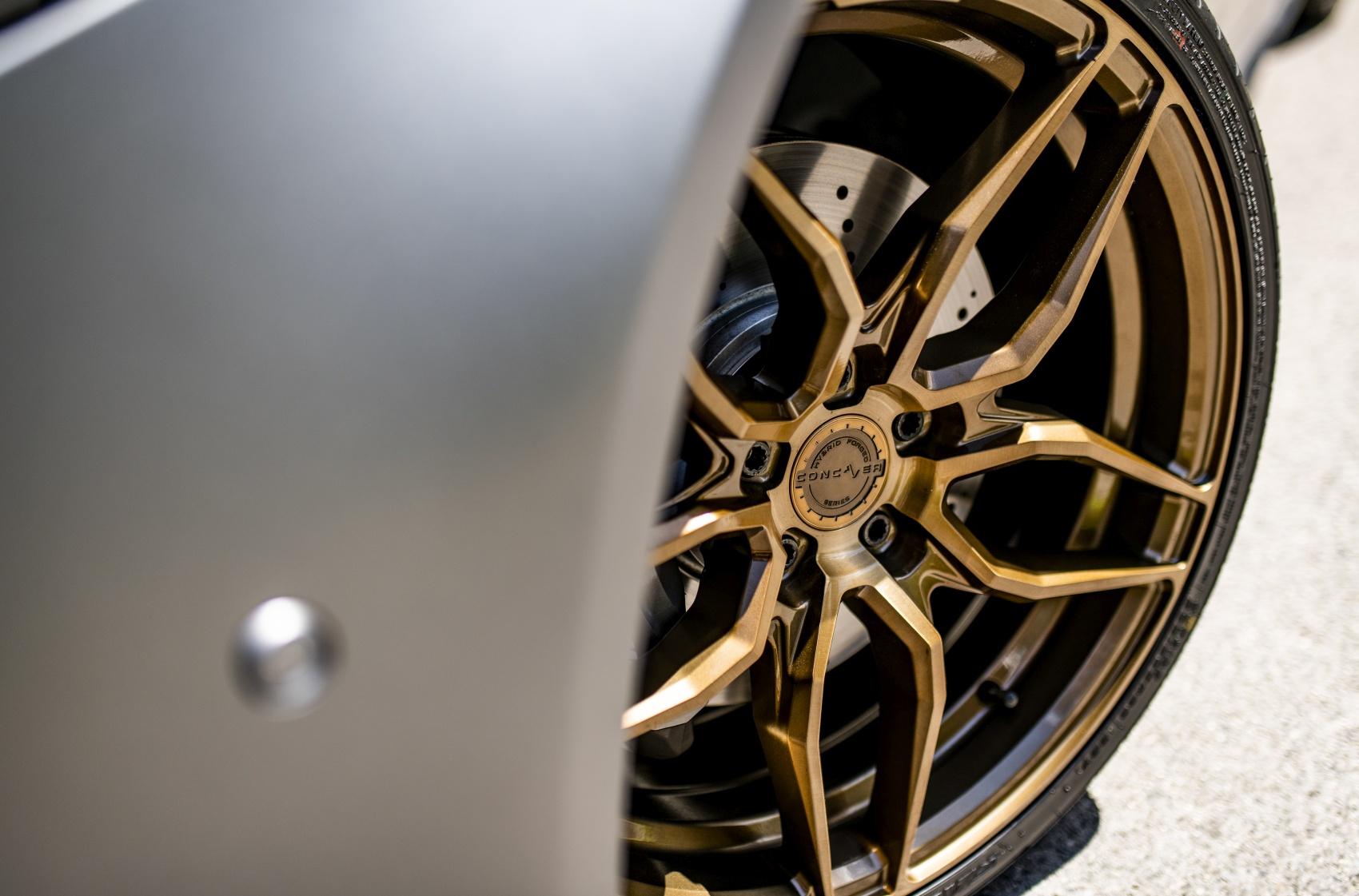 Mercedes-Benz A Class / A35 / A45 Concaver CVR3 Brushed Bronze