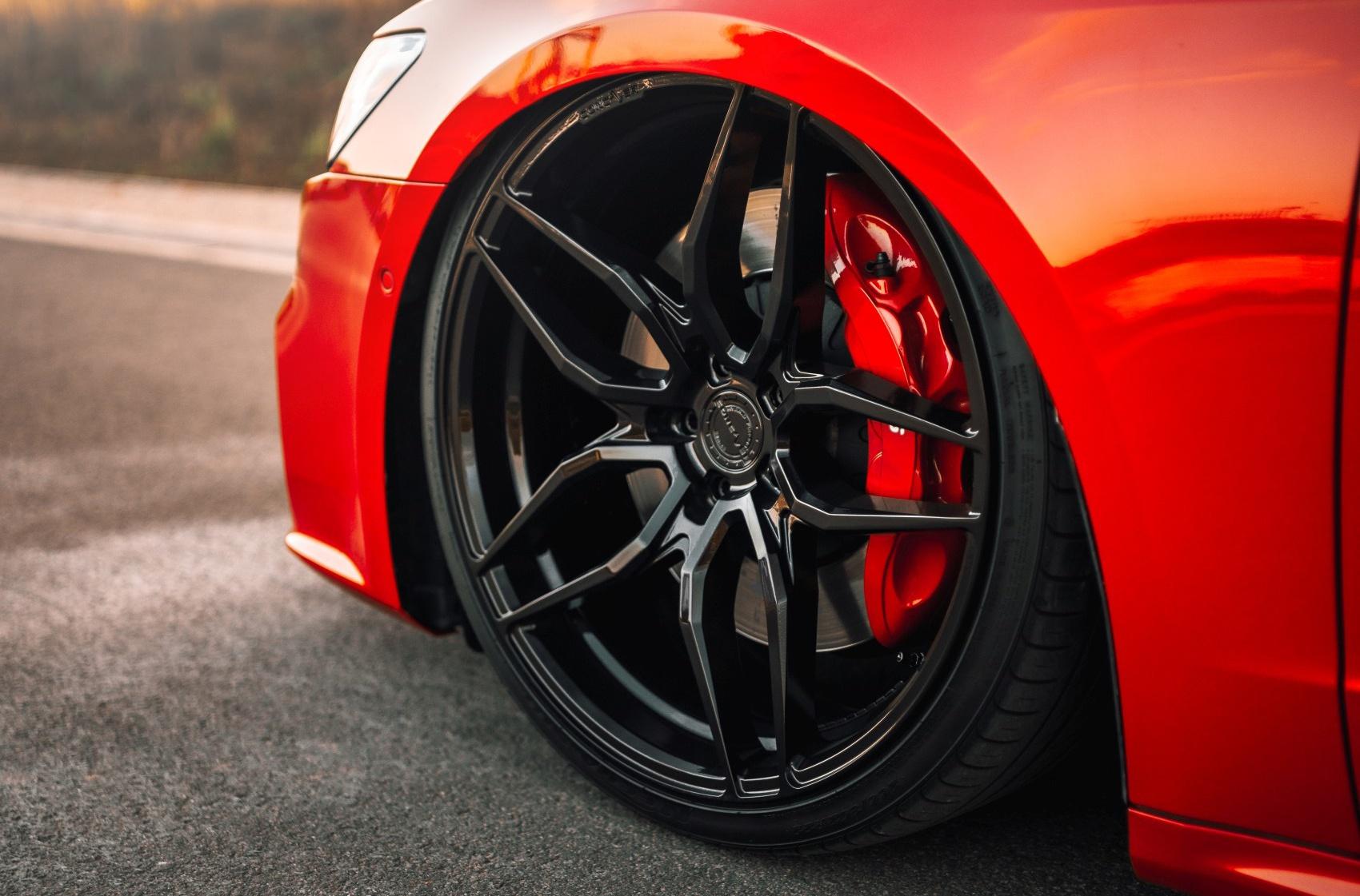 Audi A7 / S7 / RS7 Concaver CVR3 Platinum Black