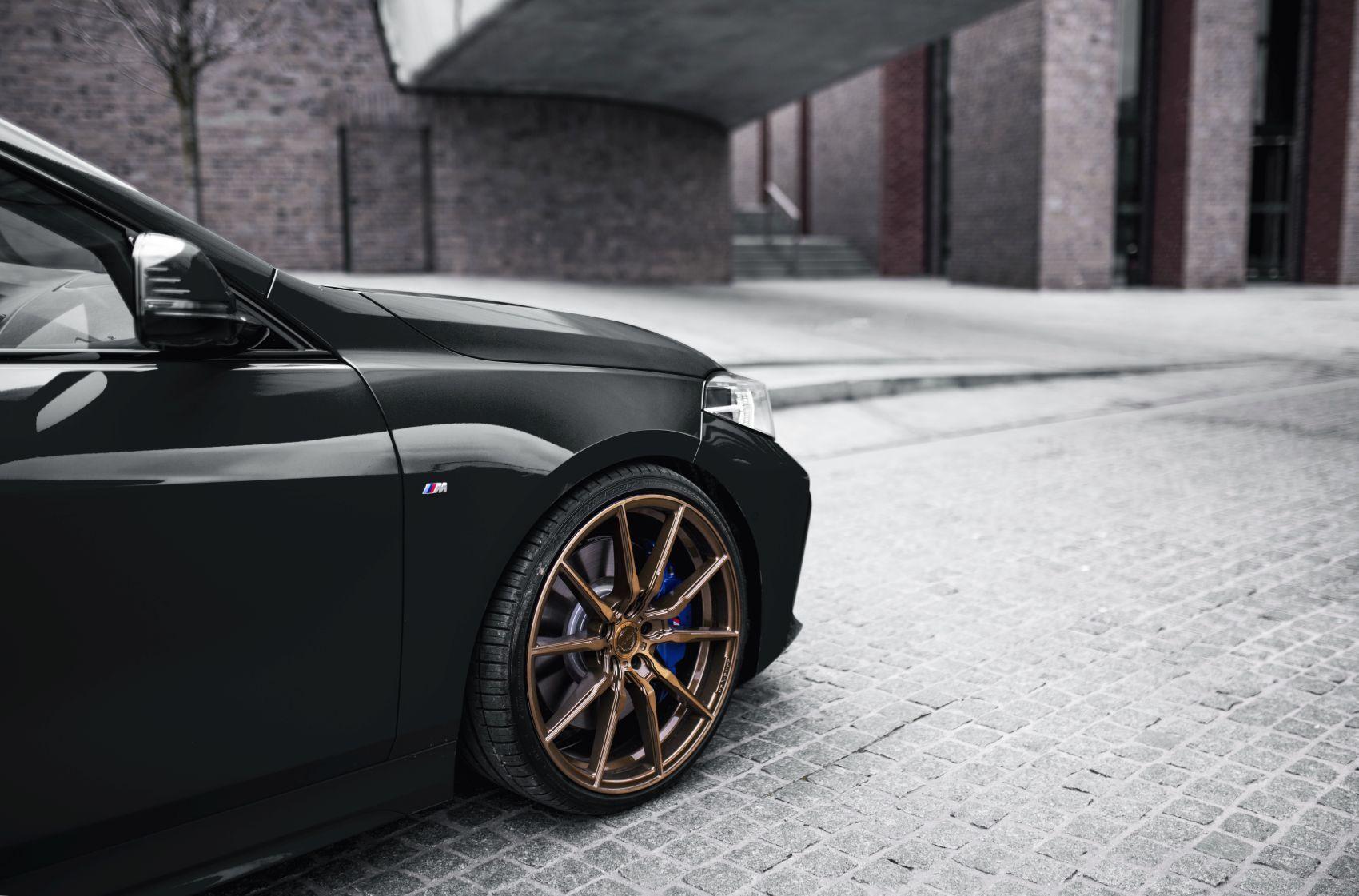 BMW 1 Series Concaver CVR4 Brushed Bronze