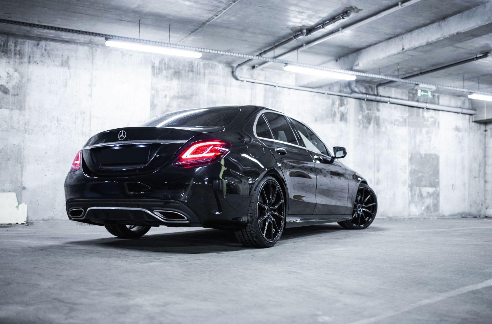 Mercedes-Benz C Class / C43 / C63 Concaver CVR4 Double Tinted Black