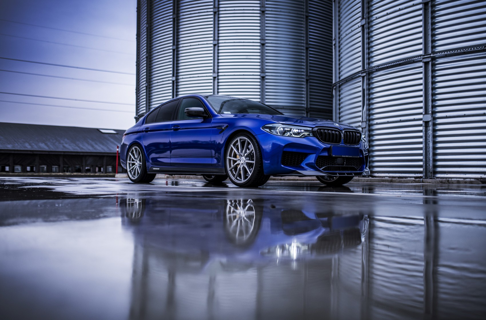 BMW 5 Series / M5 Concaver CVR4 Brushed Titanium